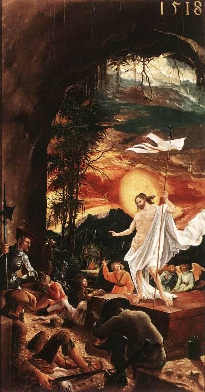 Die Auferstehung von Jesus Christus ist die Grundlage des Osterfestes (hier auf einem Gemälde aus dem 16. Jahrhundert)