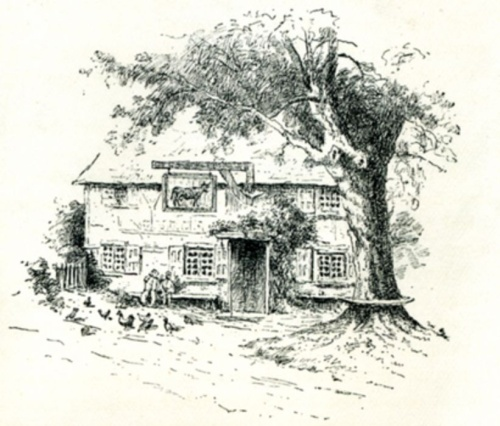 Gasthaus am Wegrand