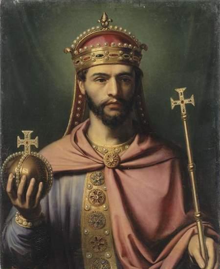 Ludwig der Fromme, Sohn Karls des Gro�en