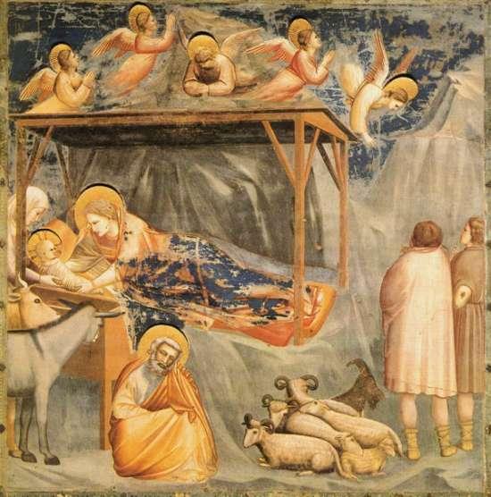 Auch im Mittelalter wurde ähnlich wie heute zu Weihnachten die Geburt Jesu gefeiert.