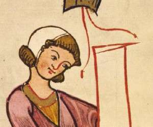 Mann mit Bundhaube (Codex Manesse)