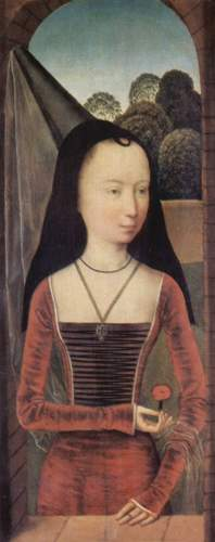 Der Hennin war eine beliebte Kopfbedeckung für Frauen im Spätmittelalter