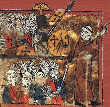 Peter der Einsiedler führte eine Volkskreuzzugstruppe bis nach Kleinasien
