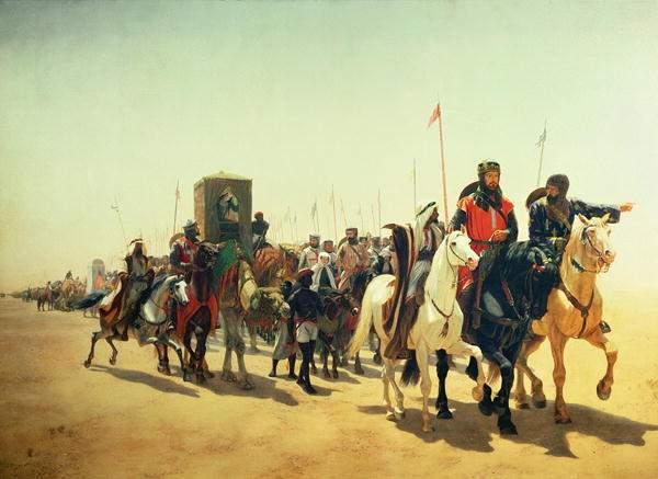 Richard Löwenherz auf dem Weg nach Jerusalem