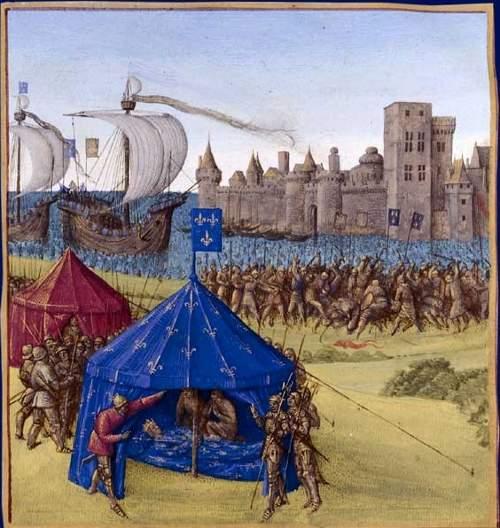 Ludwig IX starb an einer Krankheit während dem Versuch Tunis einzunehmen